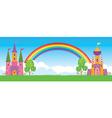 Fairy kingdom vector image