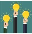 modern idea innovation light bulb concept vector image