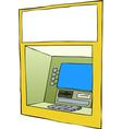cash machine vector image