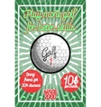 Color vintage golf poster vector image vector image