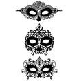 dia de los muertos masks vector image