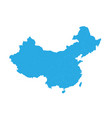 map of china high detailed map - china vector image