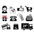 sales icons vector image