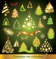 Set of christmas tree vector | Price: 1 Credit (USD $1)