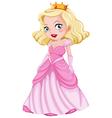 A beautiful princess vector image