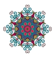 Abstract Hand-drawn Mandala 7 vector image vector image