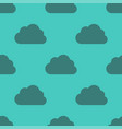 clouds weather seamless pattern background dark vector image vector image
