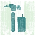 Hammer and Nails vector image