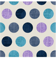 seamless abstract polka texture vector image vector image