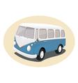 Toy vintage van vector image