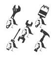 repair tools in hand vector image