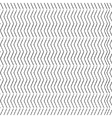 Chevron Zigzag dotted black monochrome pattern vector image