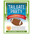American Football Tailgate Party Flyer