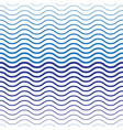 abstract two-tone wave seamless pattern vector image vector image
