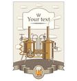 beer king vector image vector image