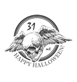 design element for halloween hand drawn eps 8 vector image vector image