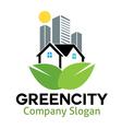 Green City Design vector image vector image