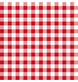 red patterns tablecloths stylish design vector image vector image