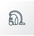 vacuum cleaner icon line symbol premium quality vector image