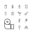 13 soft icons vector image vector image