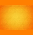 abstract orange gradient background with grunge vector image vector image