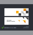 abstract set of horizontal website banners vector image