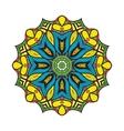 Bellflower mandala vector image vector image