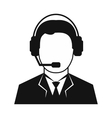 Best man from technical support vector image vector image
