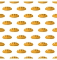 Bread pattern seamless vector image vector image