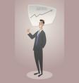 business cartoon-02 vector image