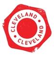 Cleveland stamp rubber grunge