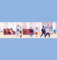 common area waiting room hall office or vector image vector image