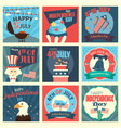 fourth of july icons vector image vector image