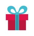gift bowtie present design vector image vector image