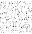 horoscope seamless pattern all zodiac signs in vector image vector image