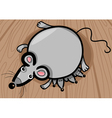 mouse mother with babies cartoon vector image vector image