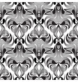 paisley black and white seamless pattern vector image vector image