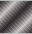 repeating rectangle halftone modern geometric vector image vector image