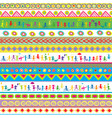 seamless bright fun abstract pattern for kids vector image vector image