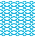 waves background vector image vector image
