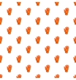 Winter sport glove pattern cartoon style vector image vector image
