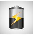 battery power design vector image vector image