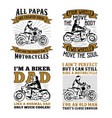 biker quotes saying 100 best for print design vector image vector image