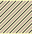 colorful diagonal stripes seamless pattern vector image