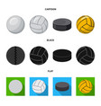 design of sport and ball logo set of sport vector image vector image