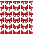 bow ribbon pattern decoration vector image