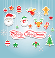 Christmas Object Decoration vector image