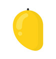 cute mango exotic fruit isolated colorful vector image vector image
