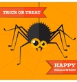 halloween spider background Eps10 vector image