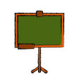 school blackboard isolated vector image vector image